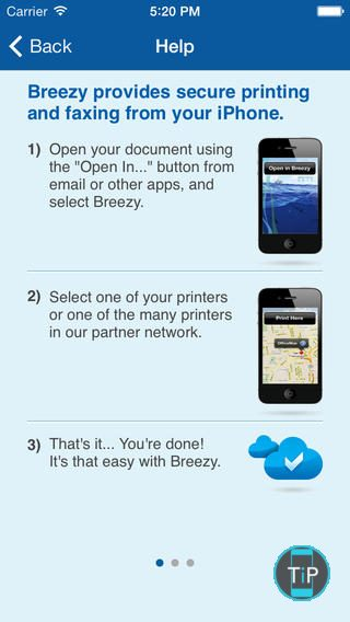 Breezy fax iphone