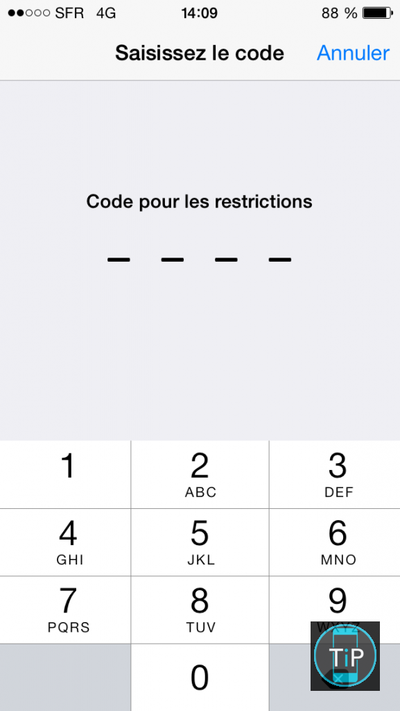 controle parental iphone iOS9