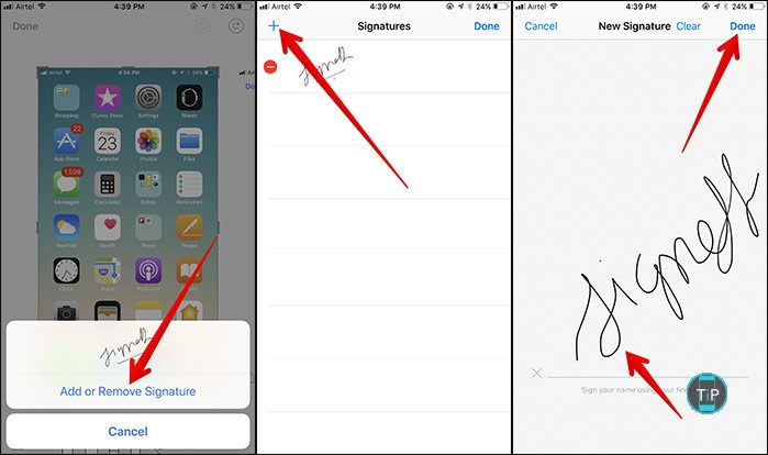 Add-Signature-in-Markup-Tool-in-iOS-11