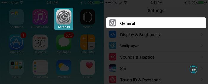 Tap-on-Settings-then-General-in-iOS-10.3-on-iPhone