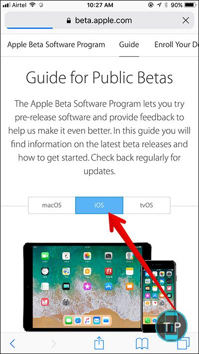 Tap-on-iOS-Tab-Guide-in-Apple-Public-Beta-Web-Site