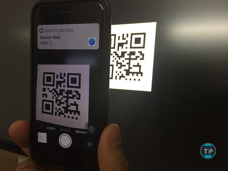 scan qr code iphone comment num 233 riser un qr code avec un iphone sur ios 11 16060